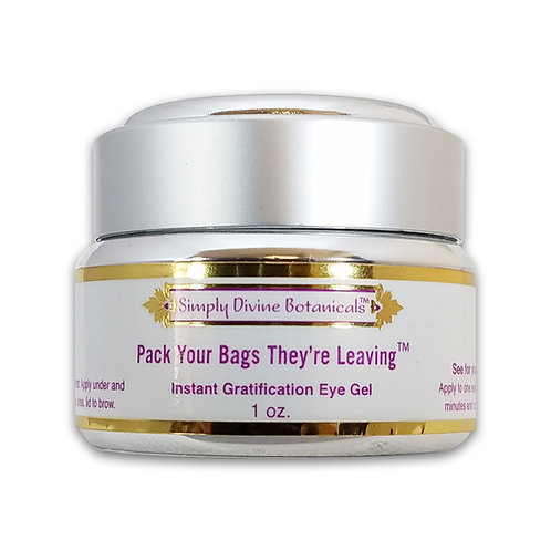 Pack Your Bags They're Leaving Instant Gratification Eye Gel!