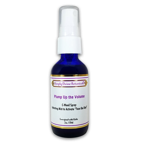 """Plump Up the Volume! Facial Mist to Activate """"Face the Day!"""""""