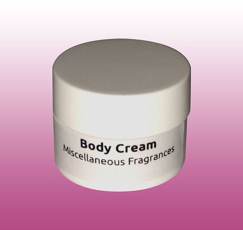 Moisturizing Body Cream Sample