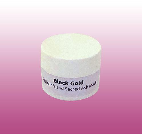Black Gold Frankincense Resin Infused Sacred Ash Facial Mask Sample