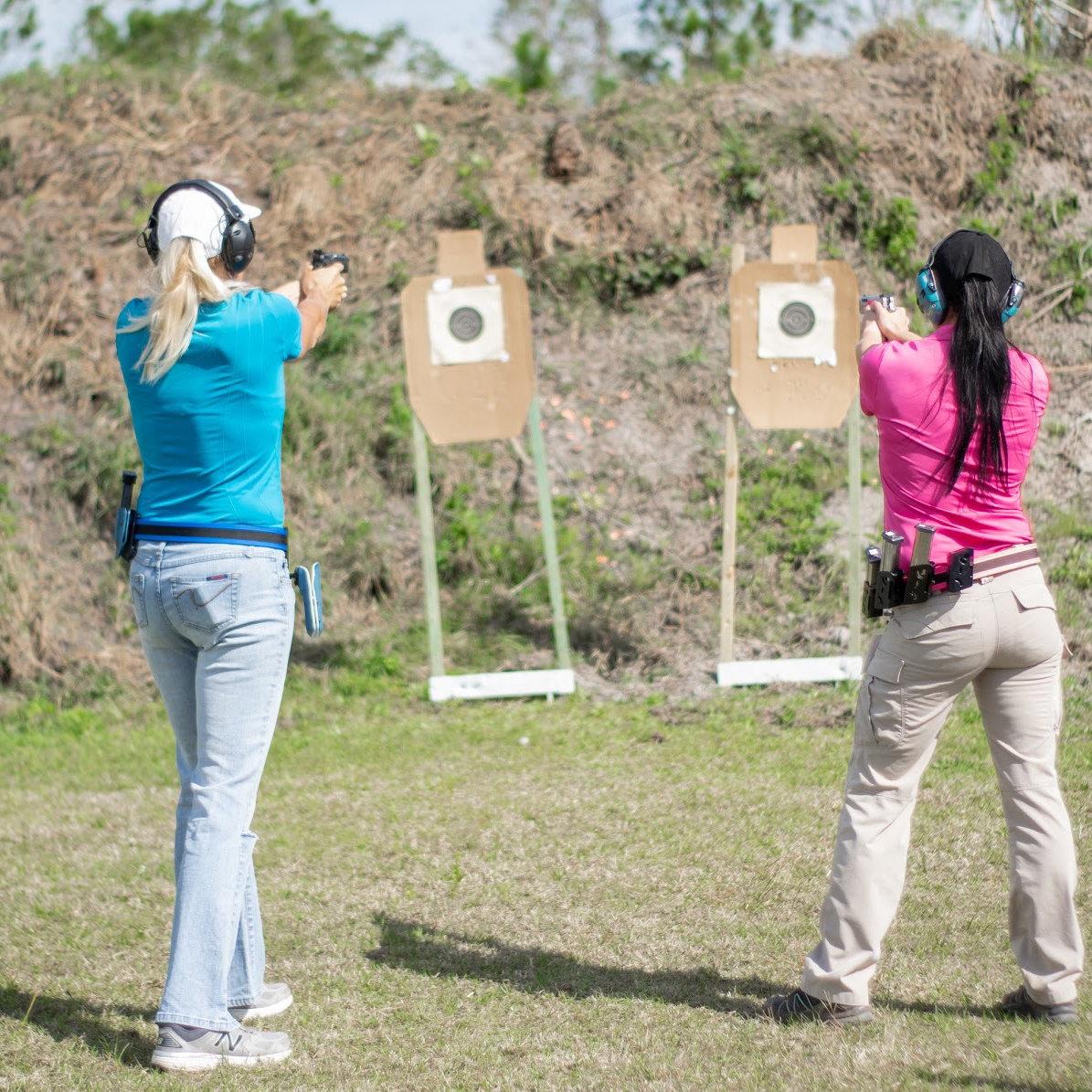 Ladies Advanced Handgun Class