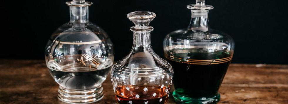 Carafes à liqueur - Photo ©Ludozme