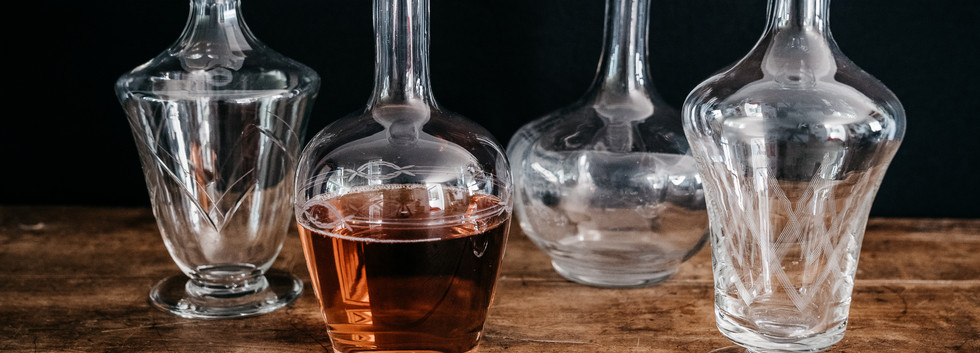 Carafes à vin - Photo ©Ludozme
