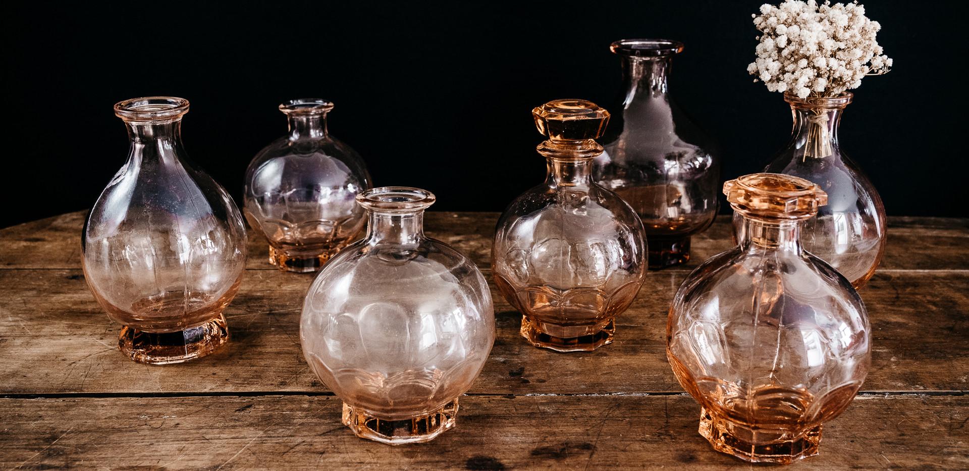 Vases roses - Photo ©Ludozme