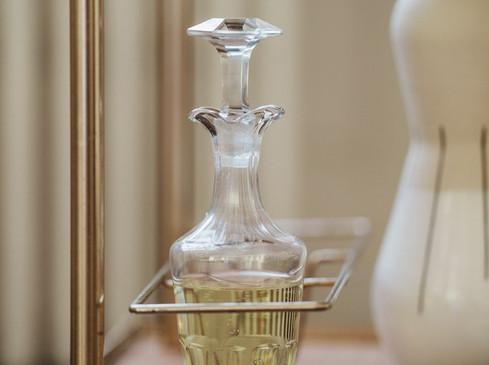 Carafes à liqueur - Photo ©Vivien Malagnat