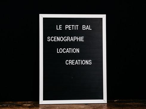 Letter Board - Photo ©Ludozme