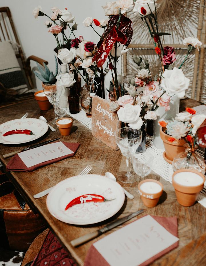 Chemin de table - Photo ©Amandine Marque