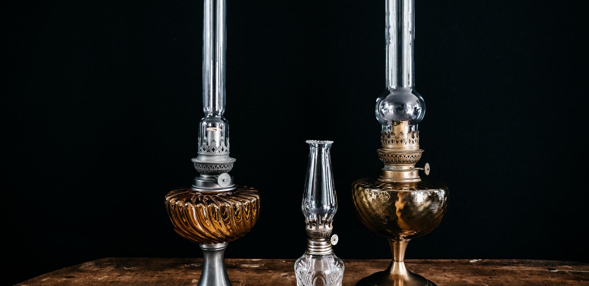 Lampes à huile - Photo ©Ludozme
