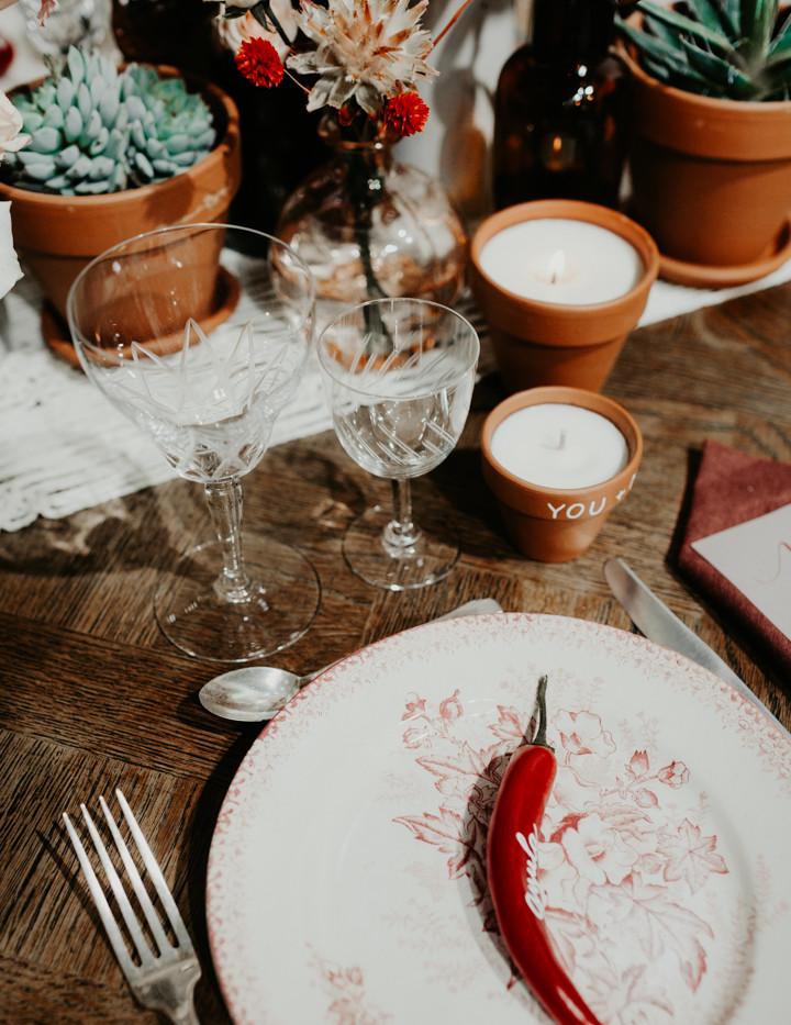 Bougies à la cire de soja - Photo ©Amandine Marque