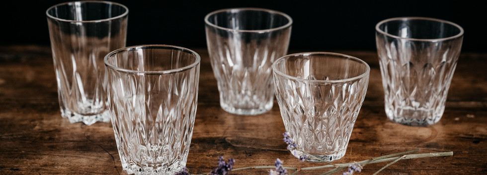 Verres à eau - Photo ©Ludozme
