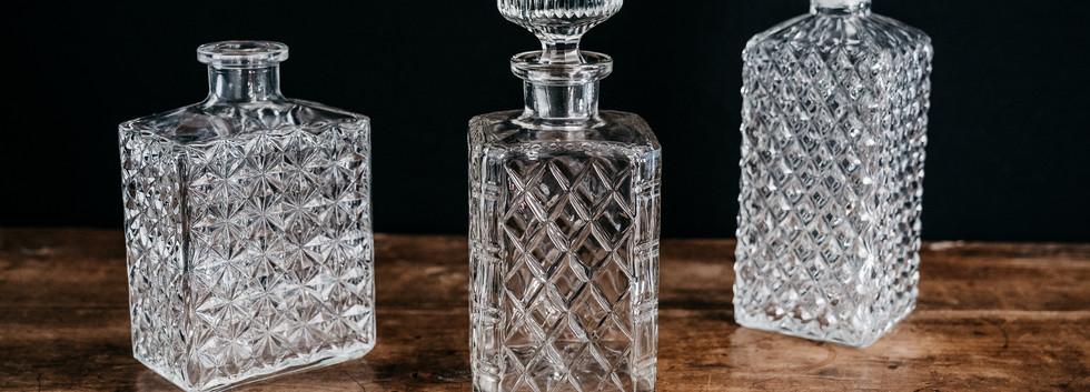 Carafes à whisky - Photo ©Ludozme