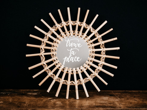 Miroir Plan de Table - Photo ©Ludozme