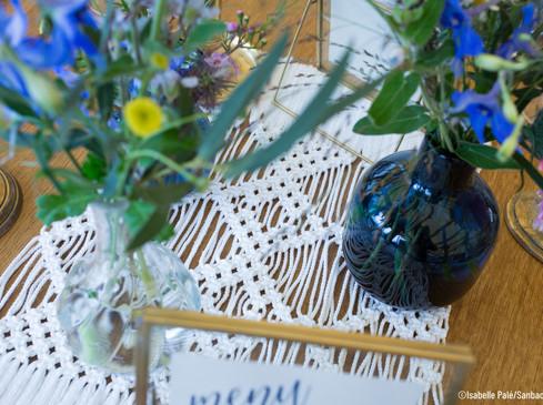 Centre de table - Photo ©Isabelle Palé