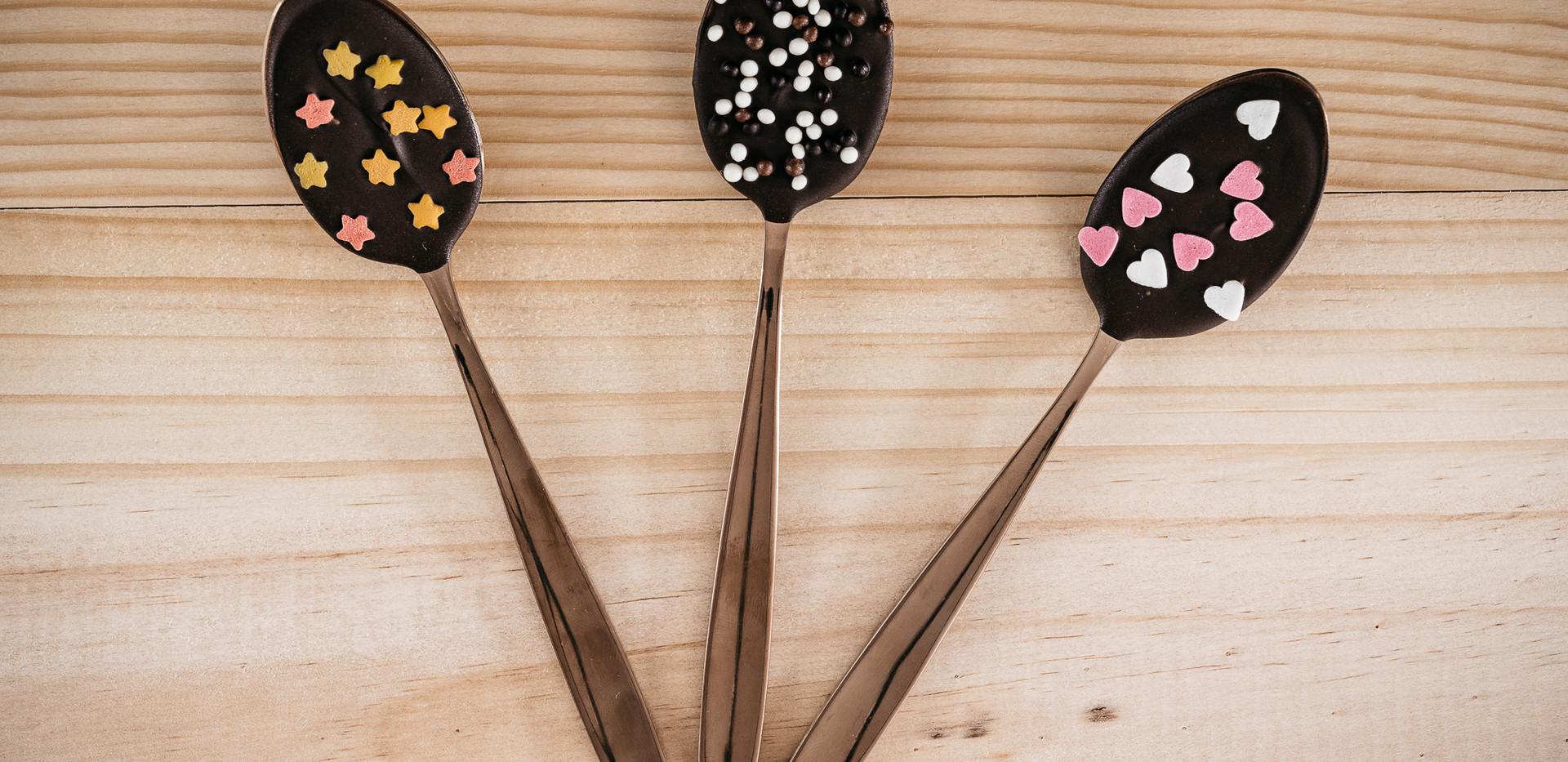 Cuillères pour chocolat chaud - Photo ©Ludozme