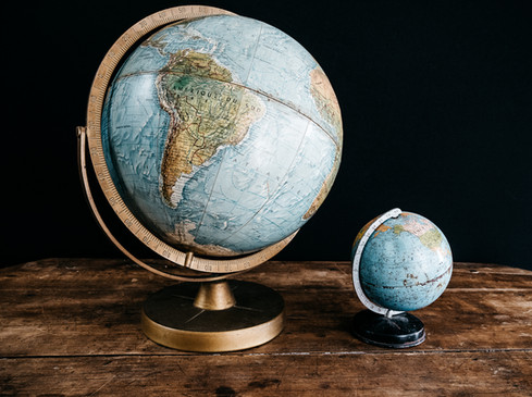 Globes - Photo ©Ludozme