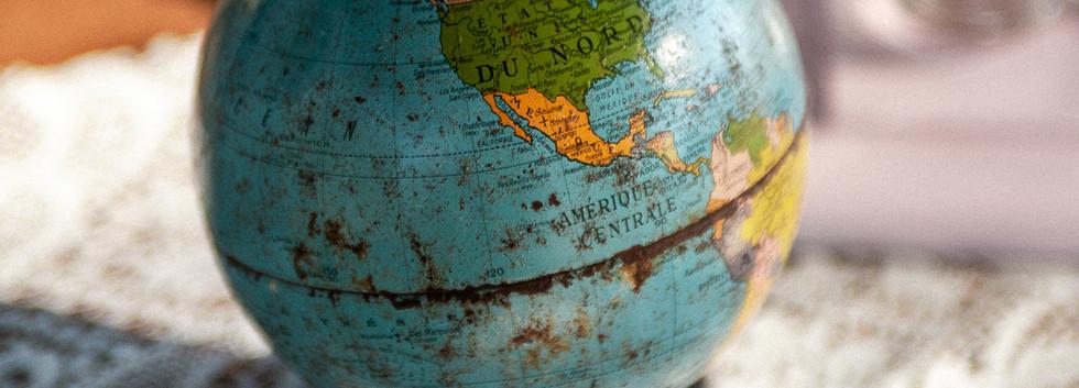 Petit globe - Photo ©Ludozme