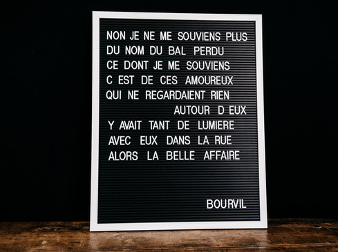 Letter Board - Photo ©Ludozme