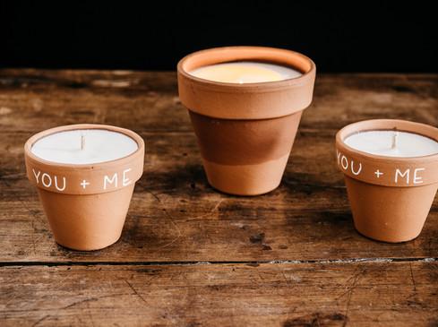 Bougies à la cire de soja - Photo ©Ludozme