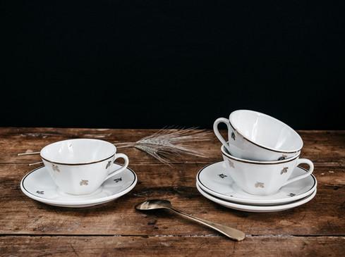 Tasses & sous-tasses - Photo ©Ludozme