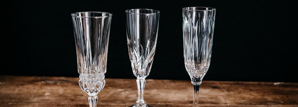 Flûtes à Champagne - Photo ©Ludozme