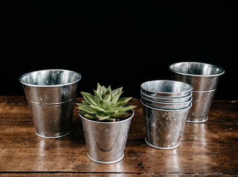 Pot zinc - Photo ©Ludozme