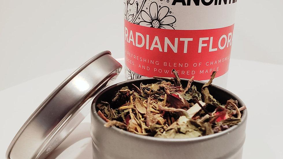 Radiant Floral Tea