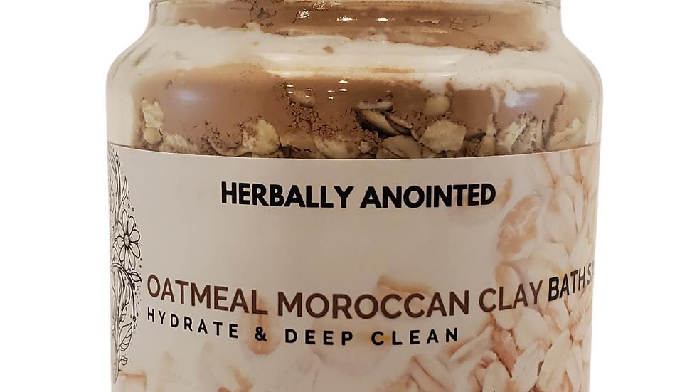 Oatmeal Moroccan Clay Bath Salt