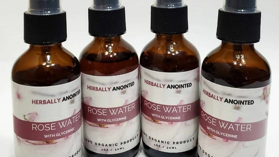 Rose Water with Glycerin