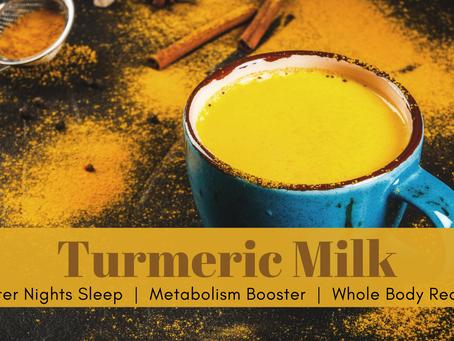 Golden Milk for a Better You
