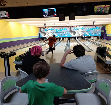 Bowling with all my boys 🥰