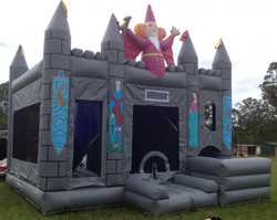 Wizard jumping castle