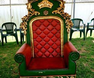 Santa Throne Hire