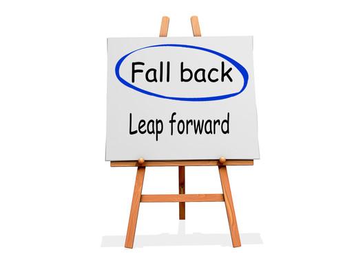 "Surviving ""fall back,"" starting November 4th!"