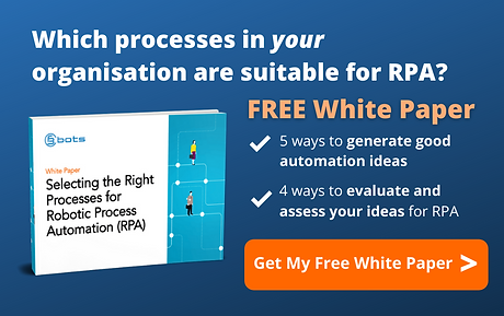 Selecting processes suitable for RPA?