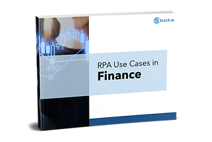 RPA Use Cases Finance