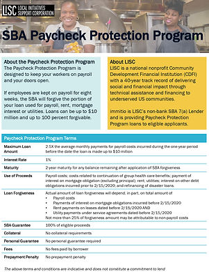 sba_paycheck_protection_program_one_page