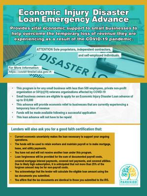 Economic Injury Disaster Relief