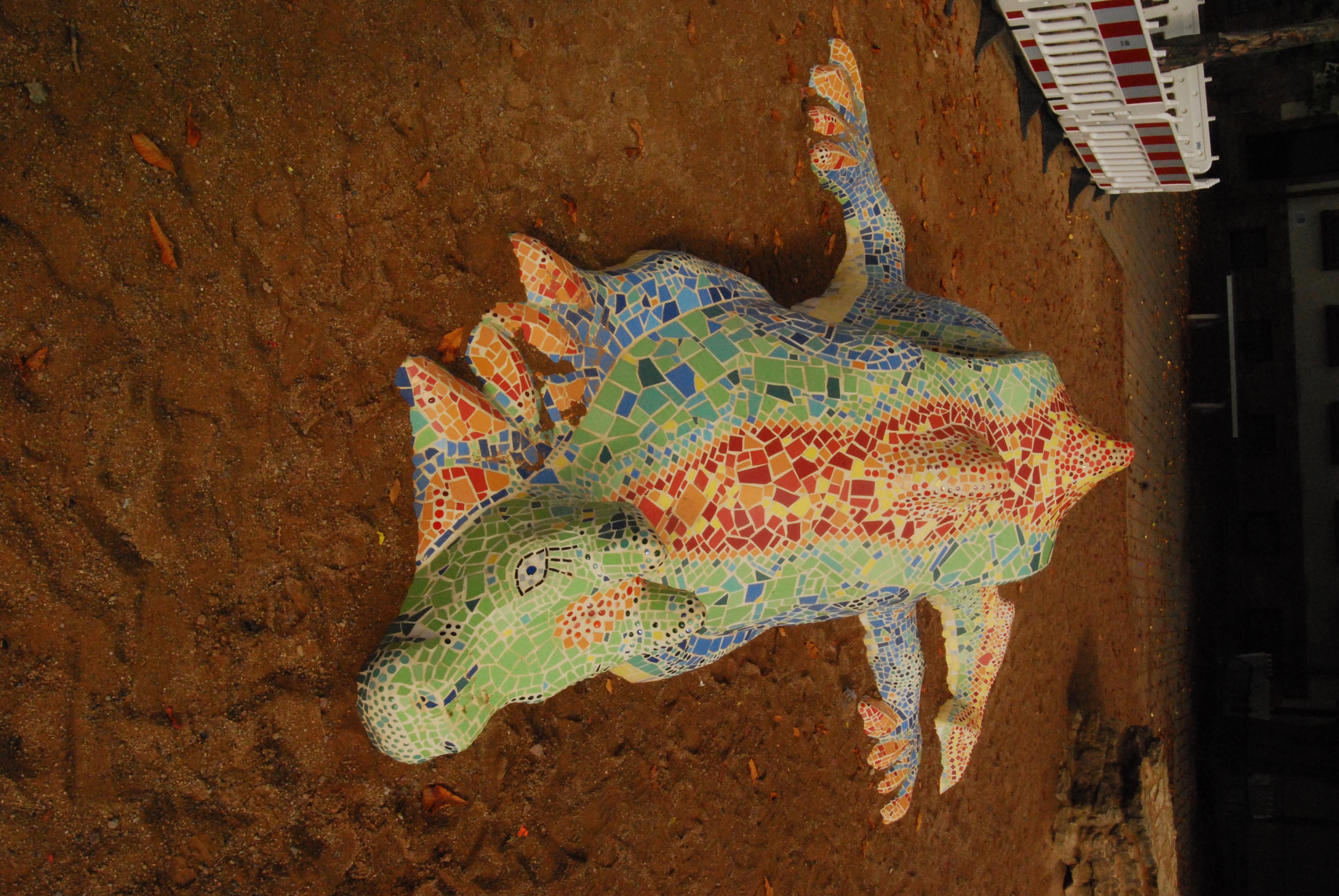 Mosaikdrache