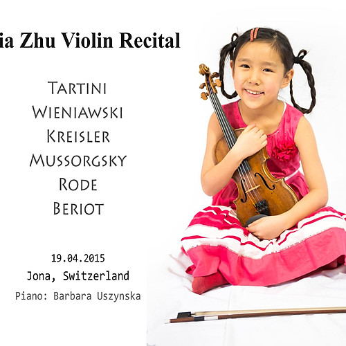 8-year-old Leia Zhu Recital | Jona | Switzerland