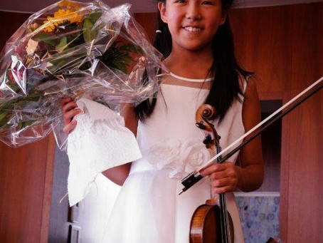 Leia Gives Her Annual Recital in Switzerland