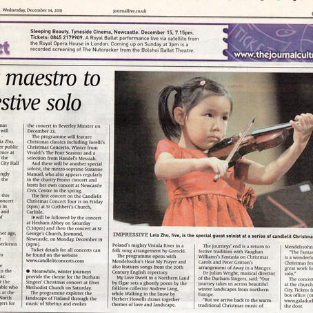 Pocket Maestro to Play Festive Solo