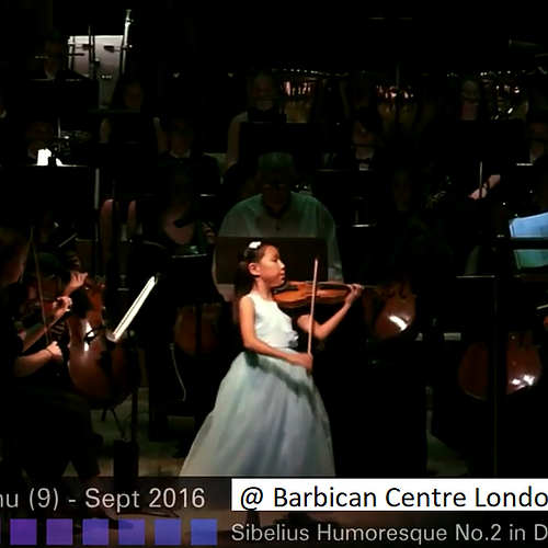 9-year-old Leia Zhu | Barbican | London