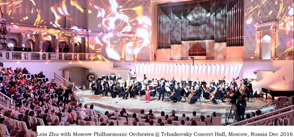 Leia Zhu with Moscow Philharmonic Orch