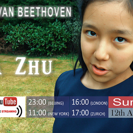 Live Streaming Beethoven Concerto