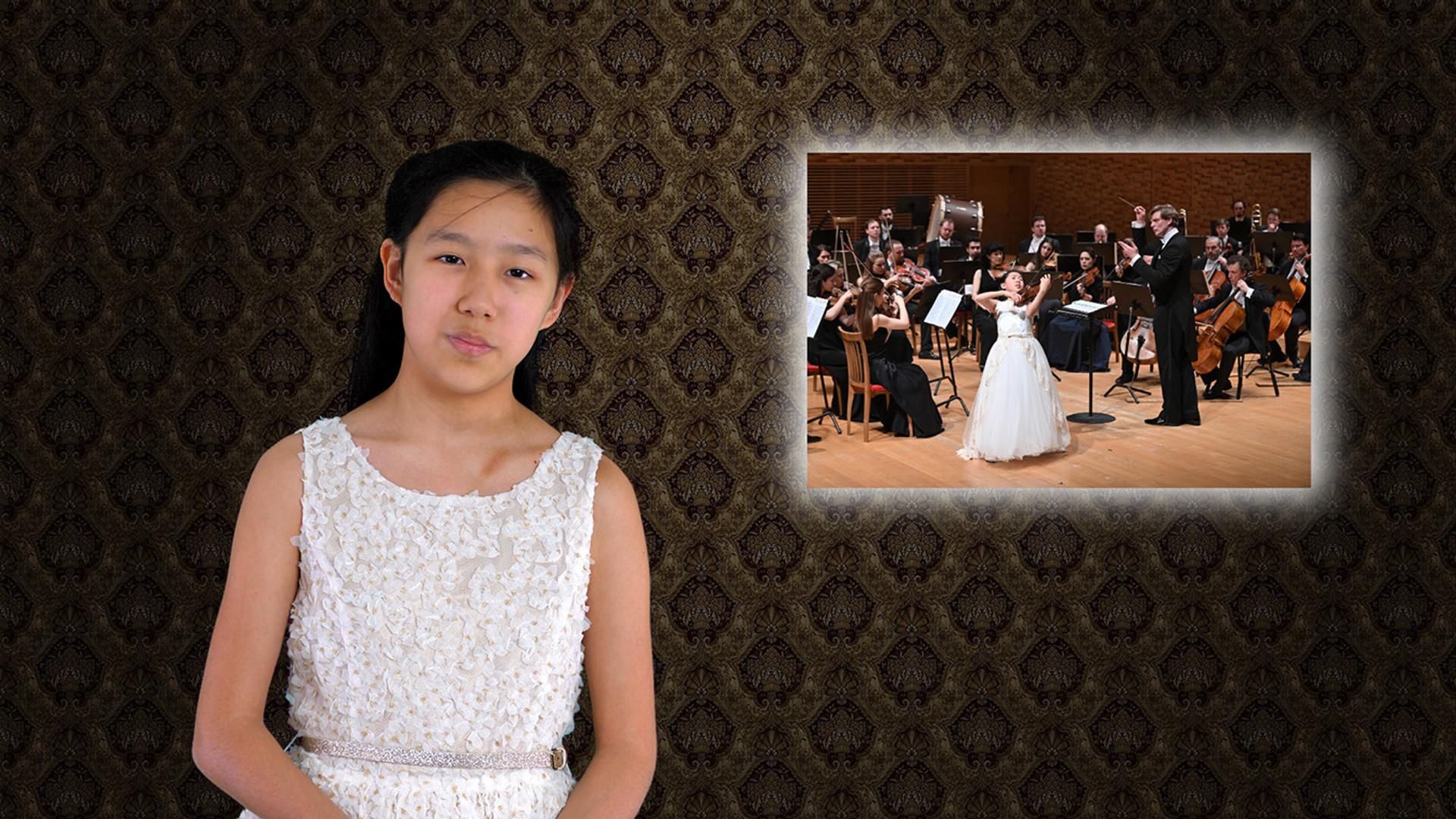 Violinist Leia Zhu Sending Greetings