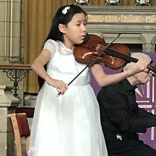 12-year-old Leia Zhu | London