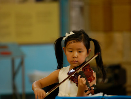 Young Violinist Leia Zhu Gives Her Frist Recital