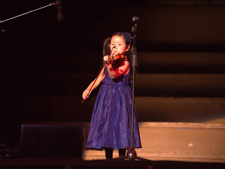 Young Violinist Leia Zhu returns Newcastle City Hall for Chinese New Year Concert