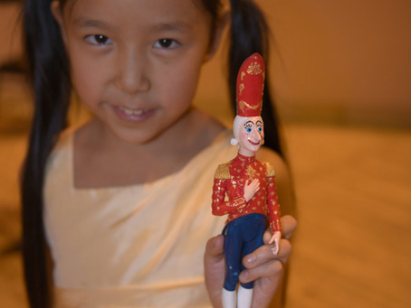 Nine Year Old Violinist Leia Zhu Youngest Winner of  Russia's Prestigious Nutcracker Competition