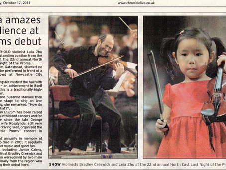 Leia Amazes Audience at Proms Debut